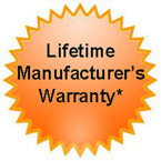 Lifetime Warranty Seal